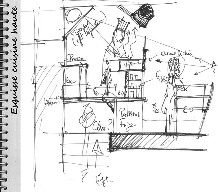 Architectonic s a r l d 39 architecture for Esquisse architecture